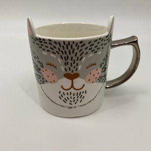 Rosanna Cat Kitty Mug with ears - NEW - Super cute